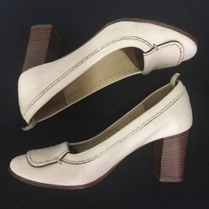 Vintage Chloe Heels Ivory Size 36 Made in Italy